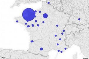 Aperçu de notre réseau d'Anciens à travers la France