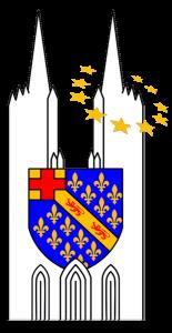 Logo de l'Amicale des Écoles Jean-Paul II - Germain - Guérard