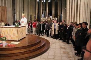 Messe du Souvenir 2012 en la Cathédrale de Coutances